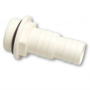 "Slangtule ABS 1 1/2"" x 32-38 mm Buitendraad"