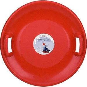 Slee Glijschotel Snow Disc Rood