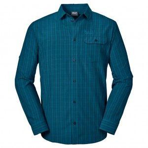 Tasman Shirt M - moroccan blue checks