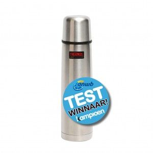 Thermos - Isoleerfles - Thermax - 1 Liter - Zilver