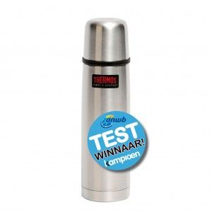 Thermos - Isoleerfles - Thermax - 500 ml - Zilver