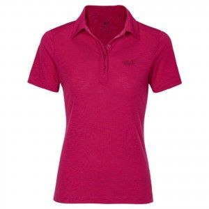 TRAVEL POLO 2 W - Azalea Red #1804561-2081