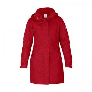 Fjällräven Una Jacket Red