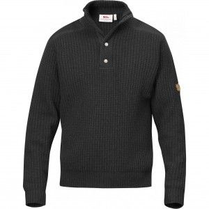 Fjallraven Varmland T-Neck Sweater 030 - Dark Grey