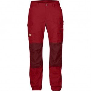Vidda Pro Trousers W Regular - 325-326 - Deep Red/Ox Red