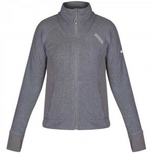 Womens Mons Fleece - Light Steel
