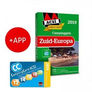 ACSI Campinggids Zuid Europa incl APP