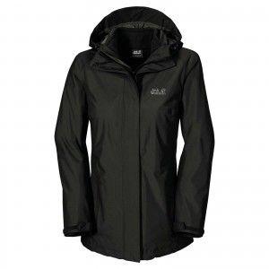 Jack Wolfskin Iceland Jacket - Black #1105731-6000001
