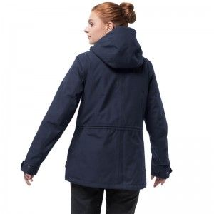 Jack Wolfskin MORA JACKET ♀ 'midnight blue'