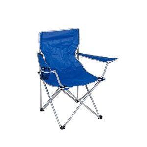 Camp-Gear Vouwstoel Compact Blauw