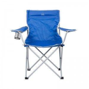 Camp Gear Stoel opvouwbaar blauw