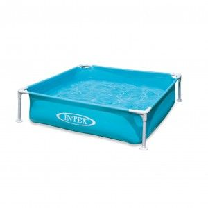 Intex Mini Pool Blauw 122 x 122 cm