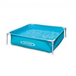Intex Mini Pool Blauw 122 x 122 cm