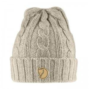 Braided Knit Hat OneSize Chalk White