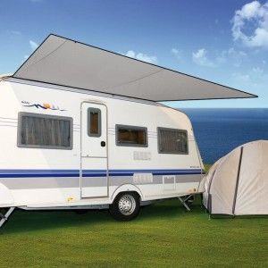 Bo-Camp Caravanluifel Travel Grijs
