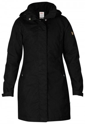 Fjallraven Una jacket 89260 Black