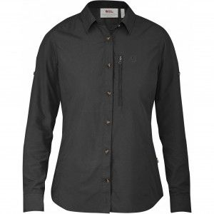 Abisko Hike Shirt LS W - 030 - Dark Grey