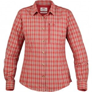 Abisko Hike Shirt LS W - 214 Flame Orange