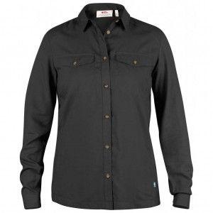 Abisko Vent Shirt LS W - 030 Dark Grey