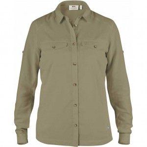 Abisko Vent Shirt LS W - 218 Cork