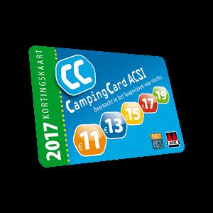 ACSI CampingCard & Camperplaatsen 2017
