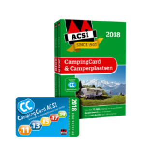 CampingCard en Camperplaatsen ACSI 2018