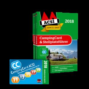 CampingCard und Stellplatzfuhrer ACSI 2018