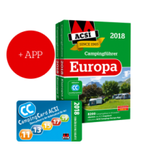 ACSI Campinggids Benelux incl APP 2018
