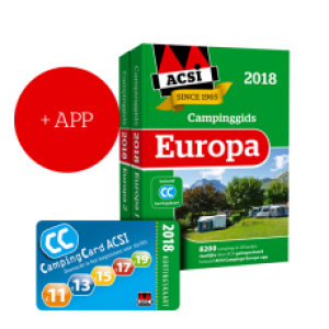 ACSI Campinggids 2018 Europa incl APP