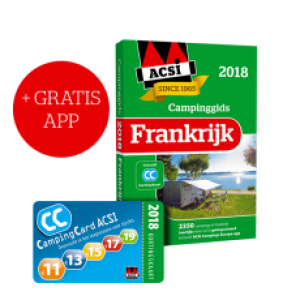 ACSI Campinggids Frankrijk incl APP 2018