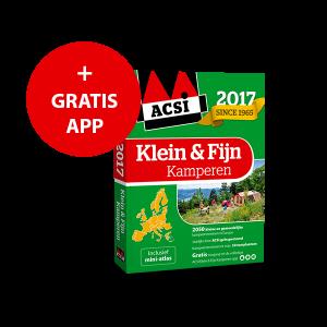 ACSI Klein & Fijn Kamperen gids + app 2017