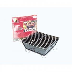 Barbecue Bbq Envelop Opvouwbaar Staal 25x25 cm