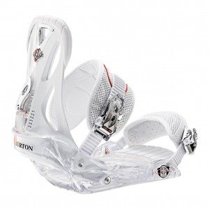 Burton Custom Clear White Binding