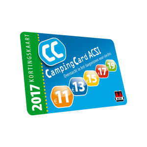 ACSI Campinggids Benelux 2017 + app 2017