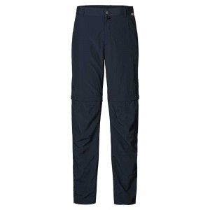 Jack Wolfskin CANYON ZIP OFF PANTS MEN - Night Blue #1500901-1010