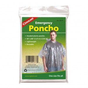 Coghlan's Emergency Poncho Transparant