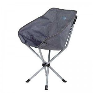 Bo-Camp Compact Chair staal