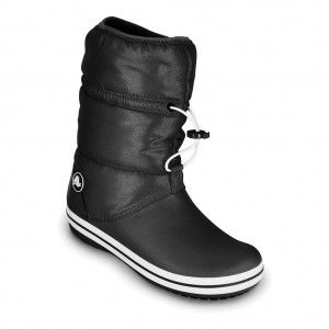 Crocband Winter Boot Dames Black