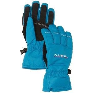 Dare2b Girl's Whitter Gloves - Blue Reef