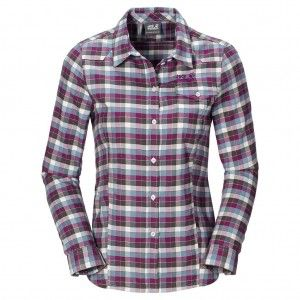 Edmont Shirt W - Siltstone Checks