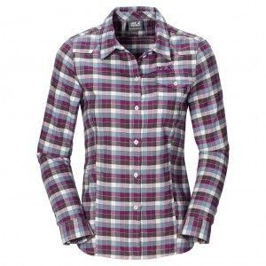 Edmont Shirt W - Siltstone Checks