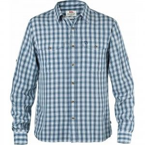Abisko Cool Shirt LS - 539 - Lake Blue