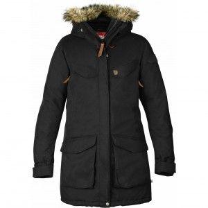 Fjällräven Nuuk Parka - 550 - Black