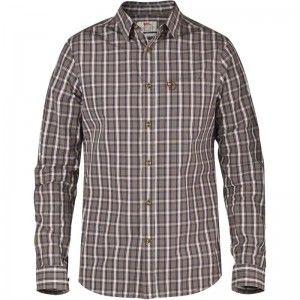 Sörmland Flannel Shirt LS W - Taupe