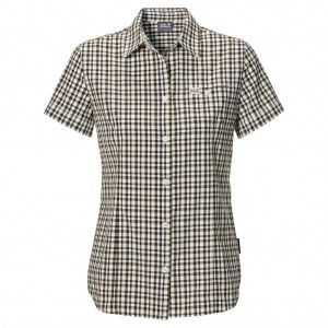 Flaming Vent Shirt W - Siltstone Checks