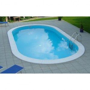 Inbouwzwembad Clever Pool 120 cm diep