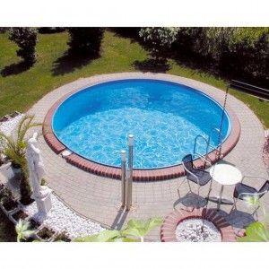 Inbouwzwembad Rond Clever Pool 120 cm diep