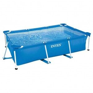 Intex Metal Frame Pool 260 x 160 x 65 cm Zwembad