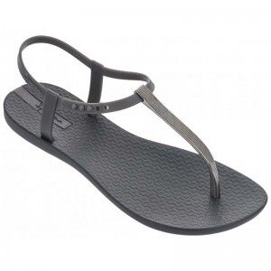 Ipanema Charm Sandal Dark Grey