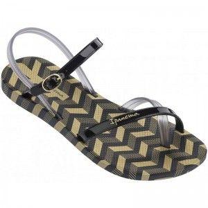 Ipanema Fashion Sandal Black/Smoke